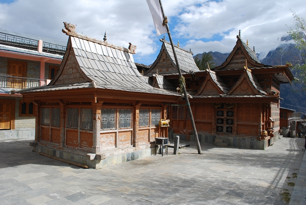 Hindu Temple at Kalpa