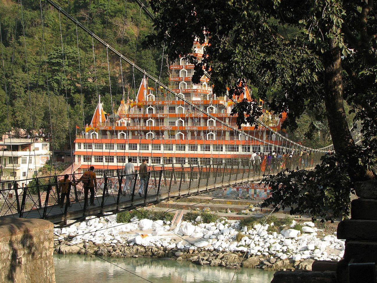 Lakshman Jhoola (rope bridge), Rishikesh