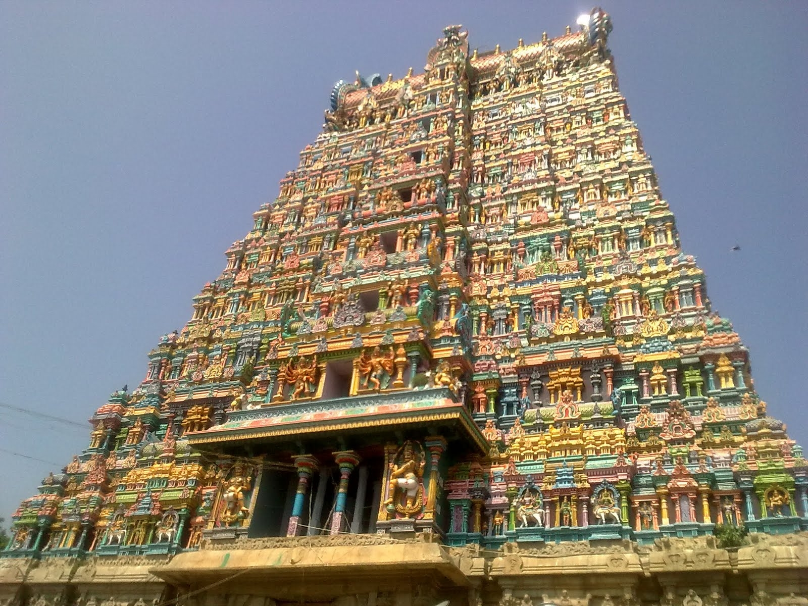 Southern India Temple
