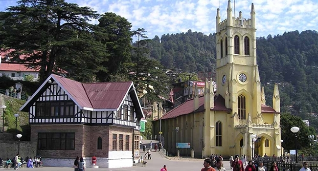 Shimla, The Capital Of Himachal Pradesh