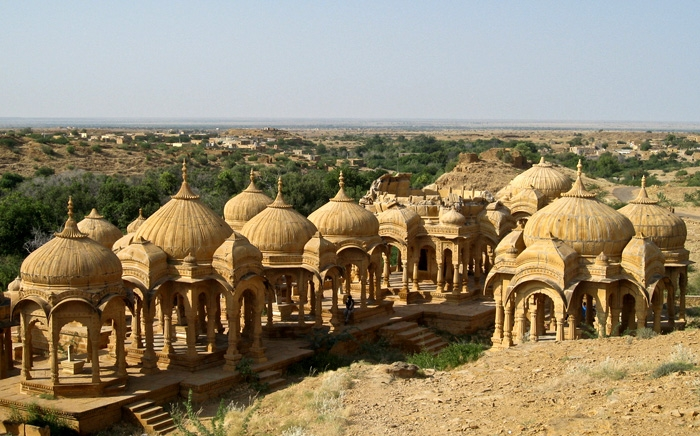 Chattris Dome-Shaped Pavilions