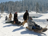 Gulmarg skiing resort