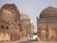 Bahmani Tombs at Ashtur