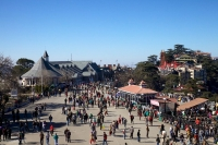 Shimla the capital of Himachal Pradesh