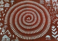 Traditional Warli Painting